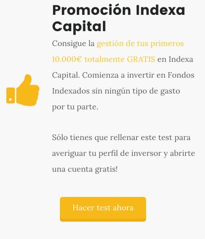 Promoción Indexa Capital