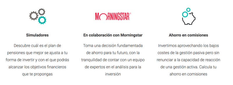 Características fondos Morningstar