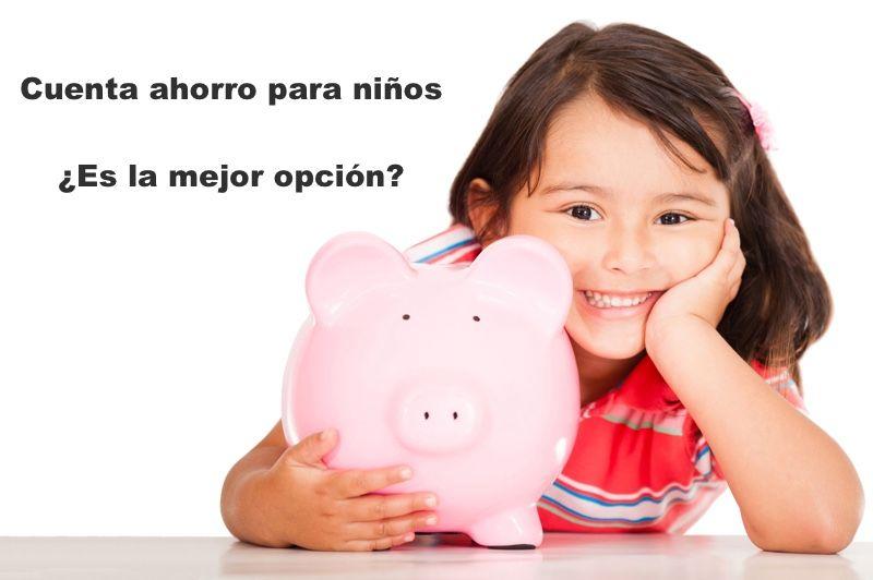 Mejores cuentas bancarias para niños