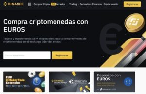 Comprar Bitcoin con Binance